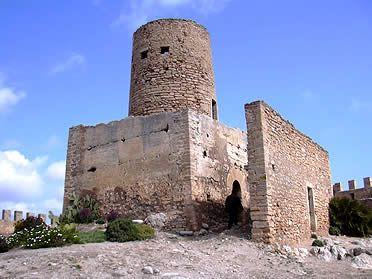 Castillo de Capdepera Baleares Spain.