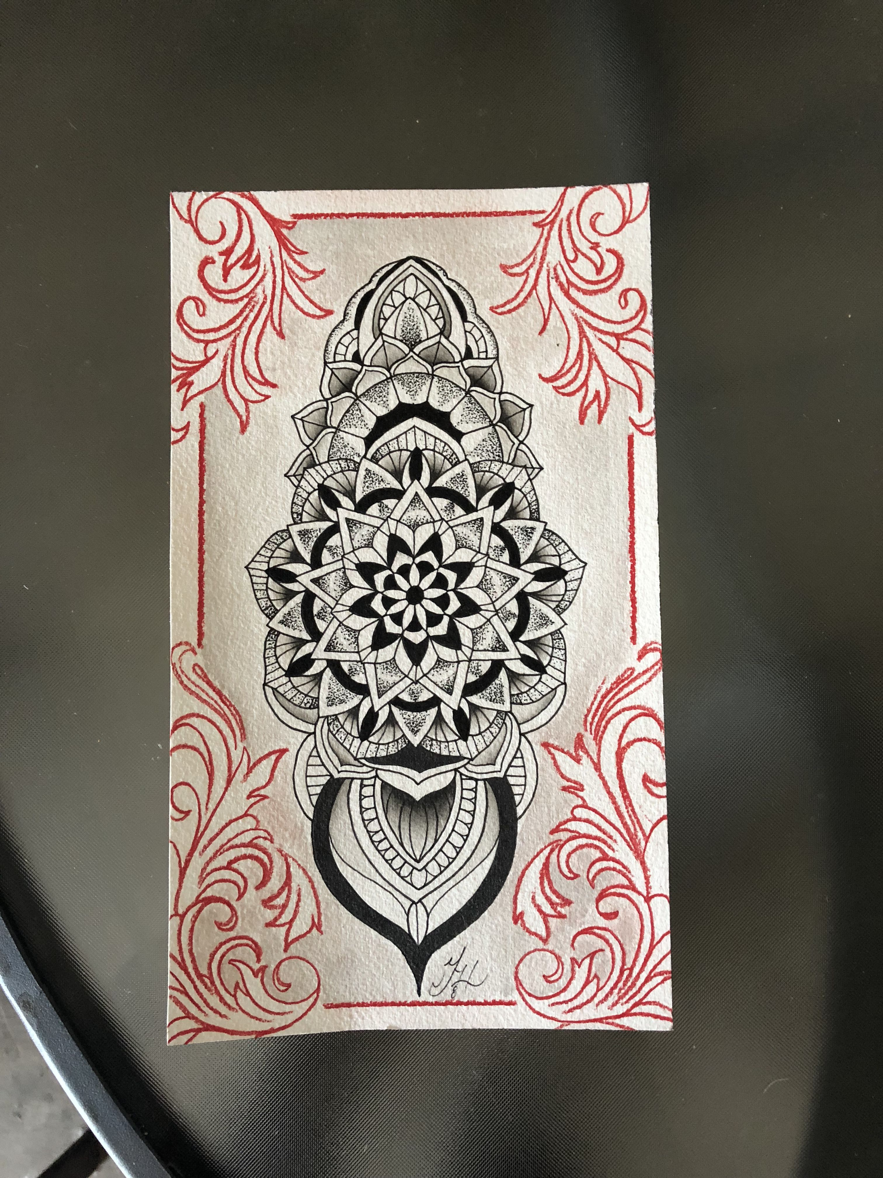 14fad6ab1fbf0d Mandala art by Jordan Hunt