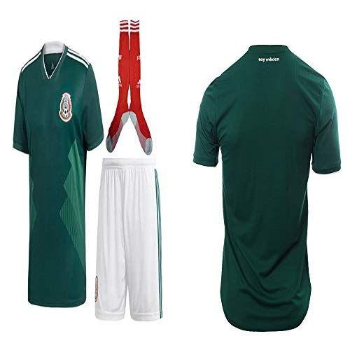 1579bd754ca Mexico Lozano Chicharito Soccer Jersey Kit   Shirt