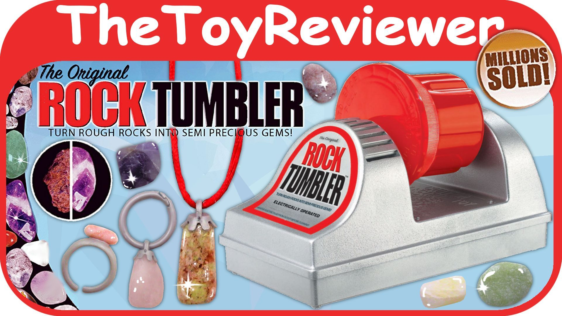 Check out the original rock tumbler here httpswww