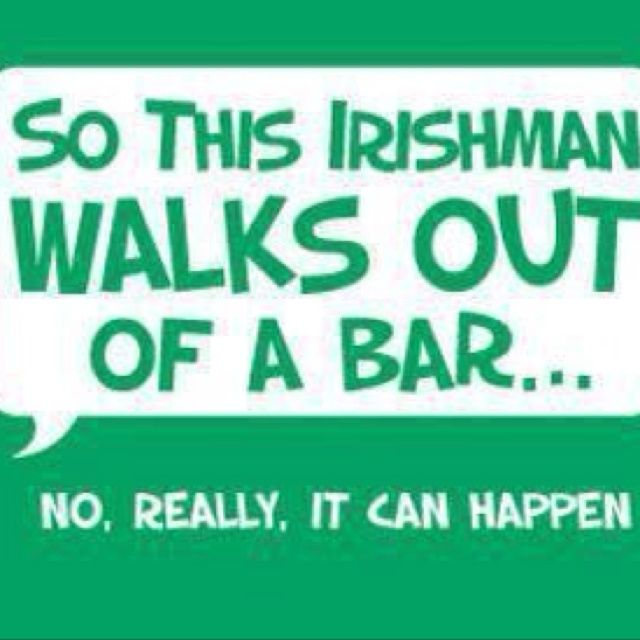 Clean irish jokes and one liners st patrick 39 s day humor for Funny irish sayings for st patrick day