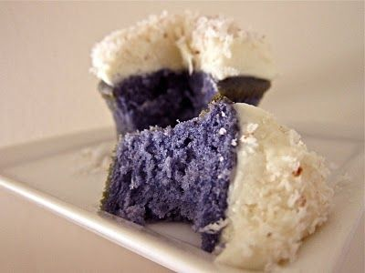 Ube Cupcake! i need to try this one someday!