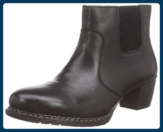 Rieker Z0652, Damen Chelsea Boots, Schwarz (schwarz01), 40