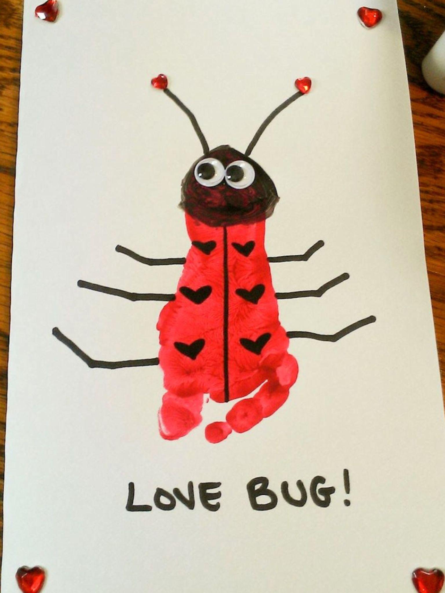 Great Idea Art Pinterest Craft Activities And Valentine Crafts