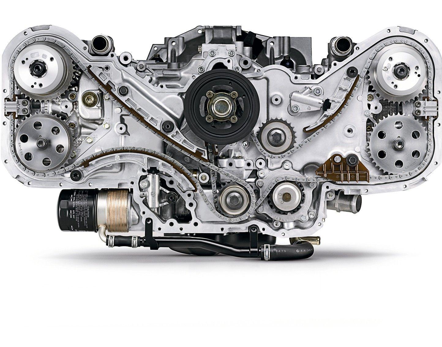 Subaru Boxer Engine Designed Porsche
