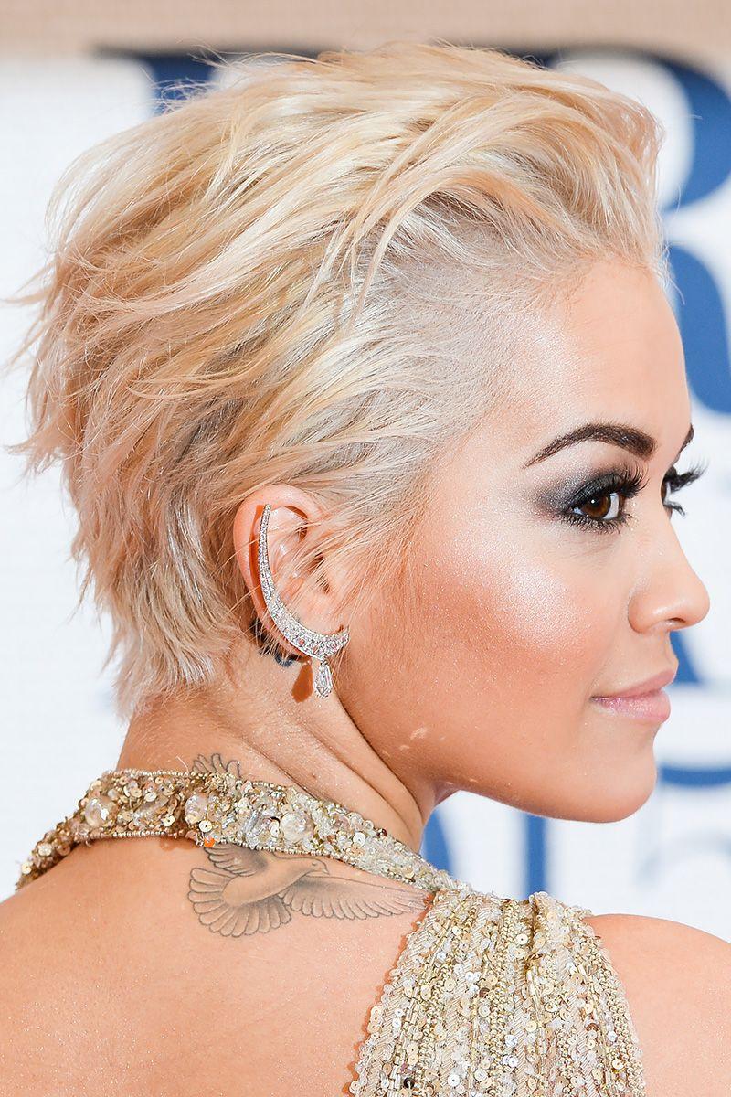 Rita ora haircut ideas pinterest hair hair styles and pixie