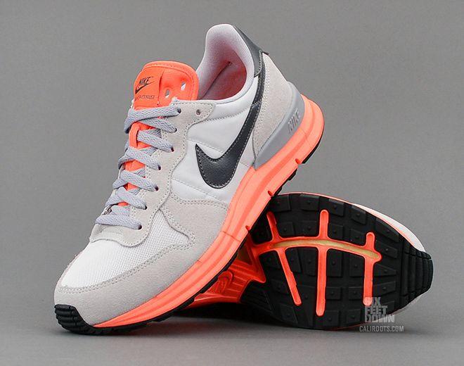 brand new a5eac a3db5 Nike Lunar Internationalist  Light Grey Atomic Orange