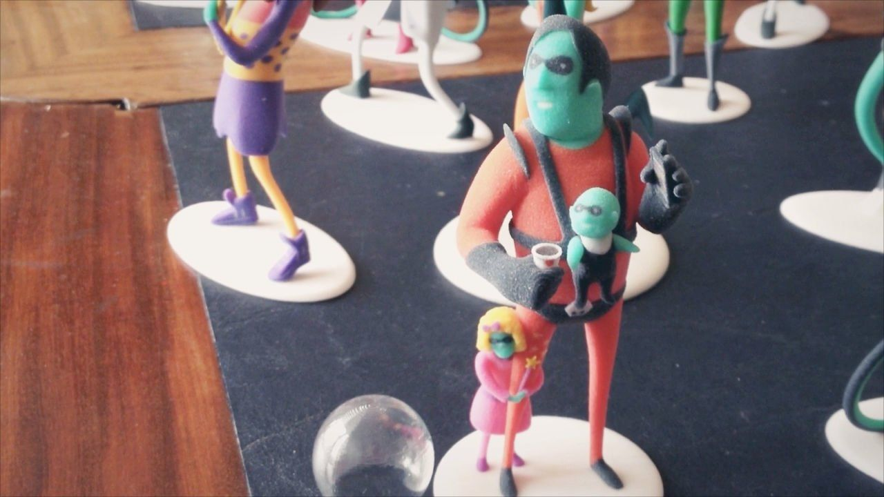 3D Printed Action Figures That Replace Business Cards | Business ...
