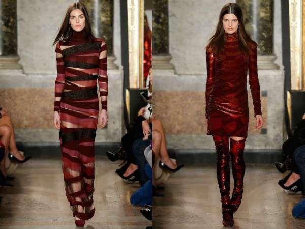Fashion trend fall winter 2018 dresses