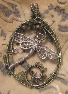 It's a Scrappy life: Wirework Dragonfly....or is it????
