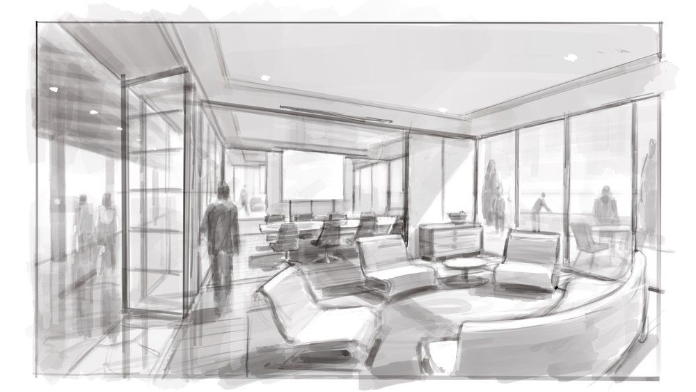 In House Sketching Breakout Room Prototype Architecture Best