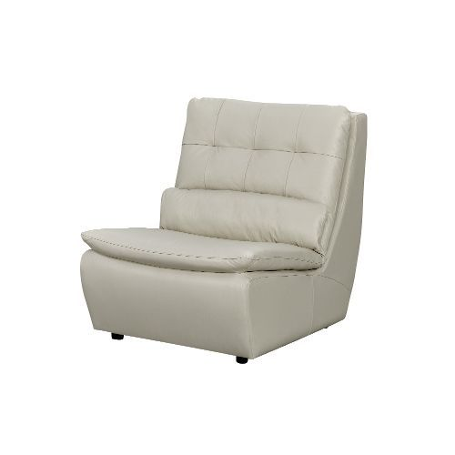 Swivel Chair Regal Swing Bangalore Contemporary Armless Off White Leather Living C976w6513swvlach