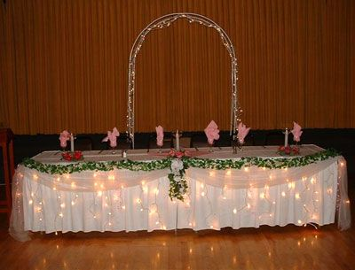 Wedding head table decoration ideas from the simple bloguez wedding head table decoration ideas from the simple bloguez photo 3414678 1 junglespirit Image collections