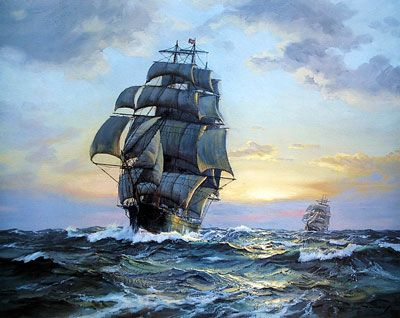 Charles Vickery: Clipper Ships