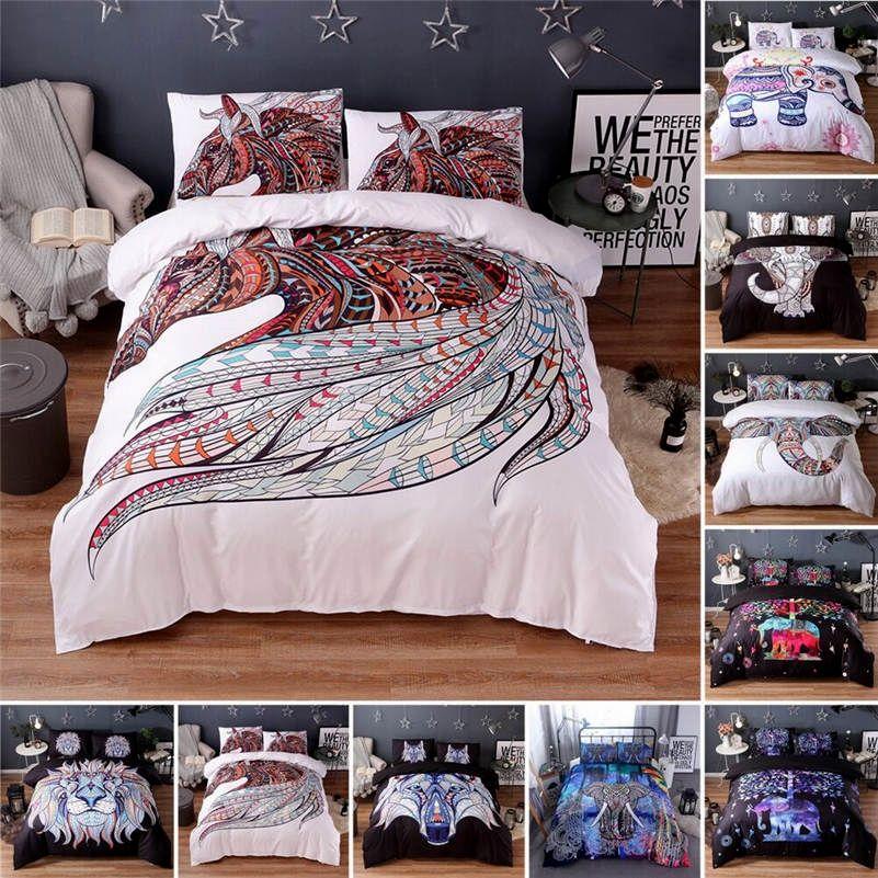 Superb Mandala Animal Pattern Bedding Sets Mandala Sheets Mandala Bedspread Boho Bedding Bohemian Bedding Manda Boho Bedding Sets Boho Bedding Bedding Sets