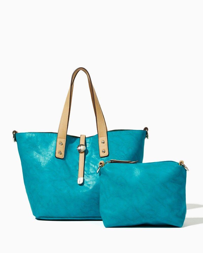charming charlie | Everyday Bag-in-Bag Tote | UPC: 450900458843 #charmingcharlie