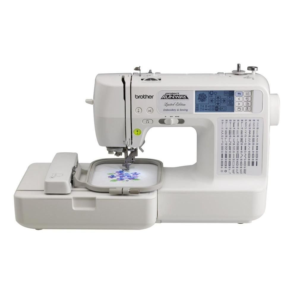 Brother Sewing and Embroidery Machine With Rolling Bag | Bordado