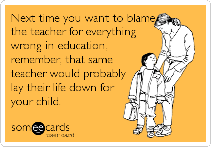 why did you want to be a teacher