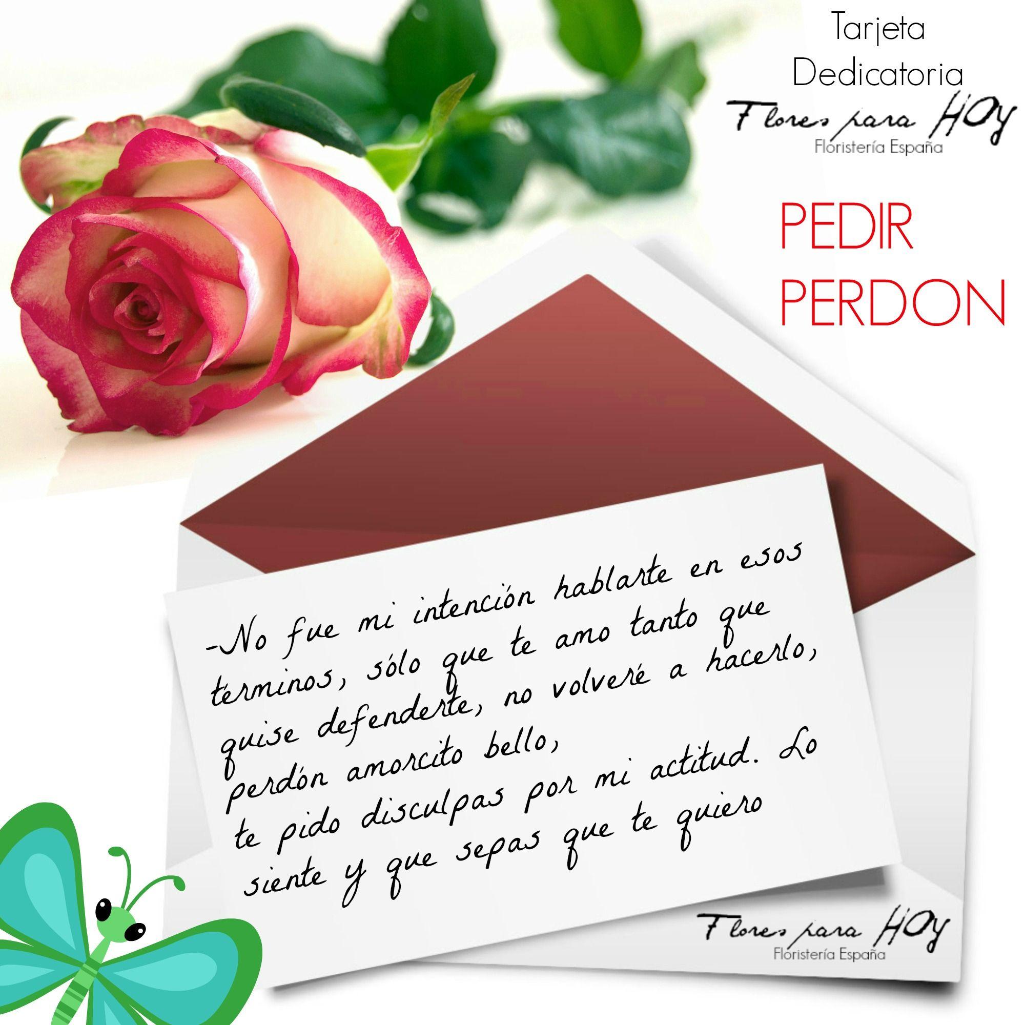 Ideas para escribir en tu tarjeta dedicatoria junto a tu ramo de flores Frases AmorPedir Perd³nRamo