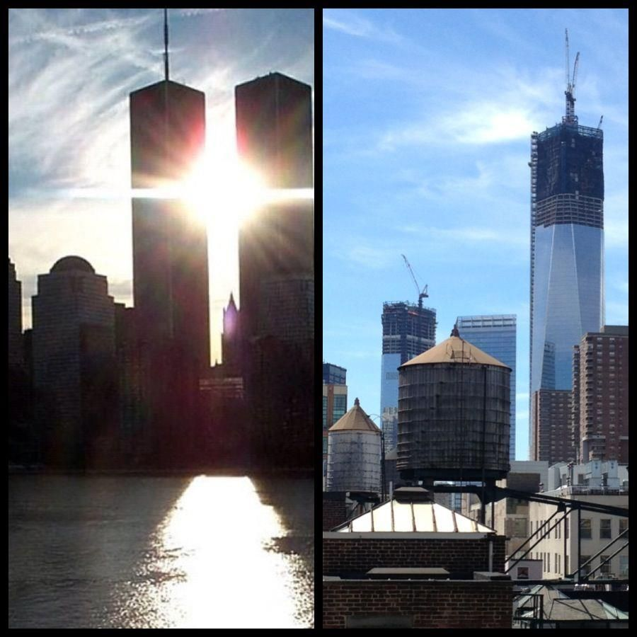 #Neverforget911 #Cheers to rebuilding taller and stronger!