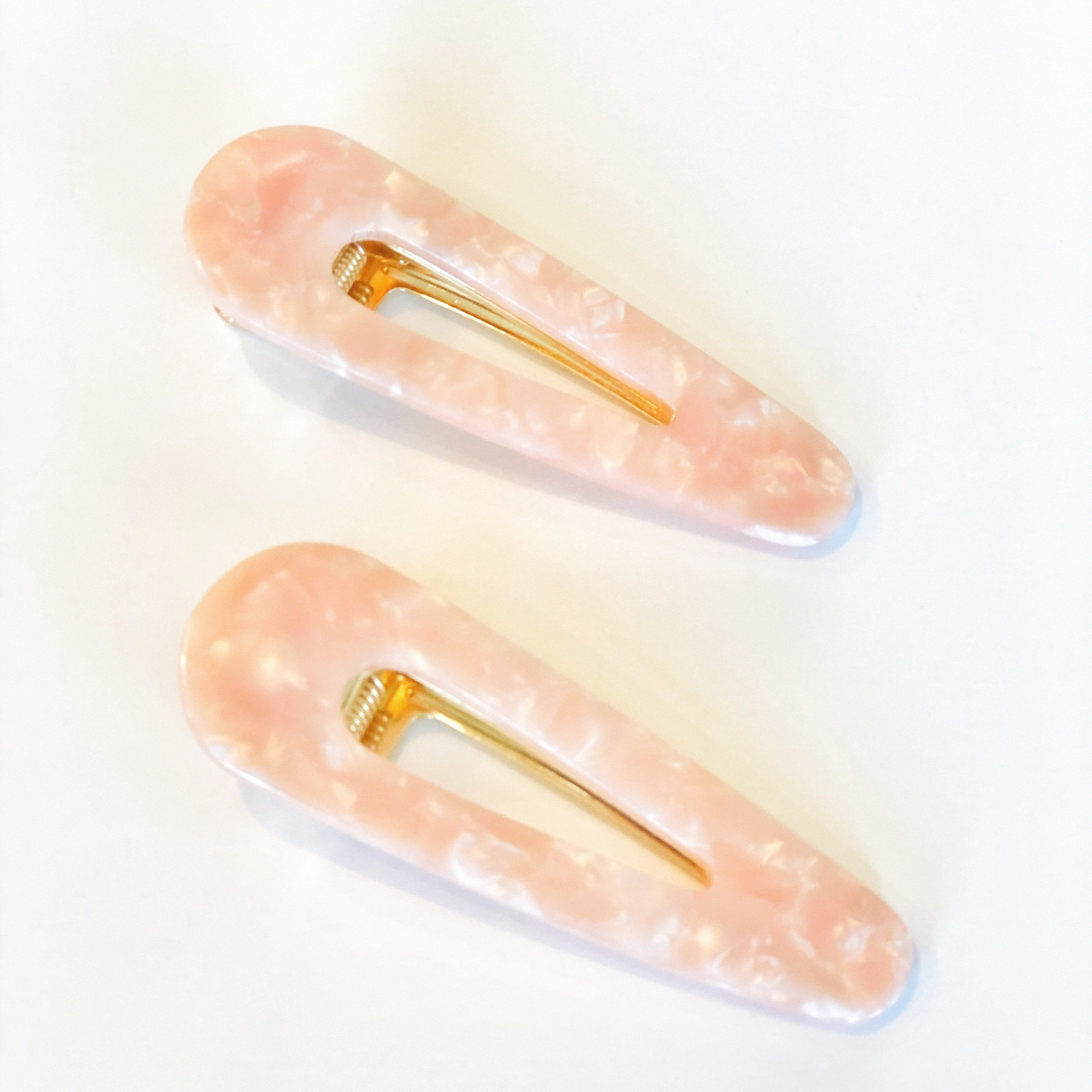 Ember Clips Set of Two   Peach Gallery