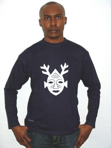 masque africain t shirt