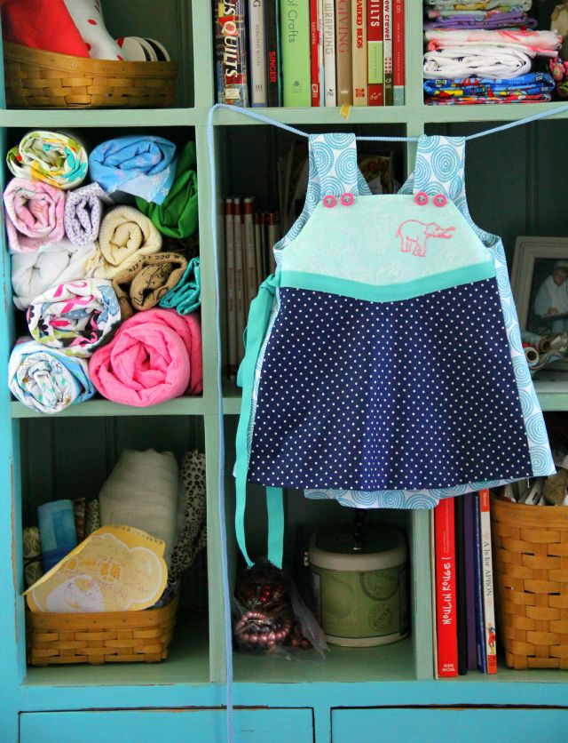 Elephant Embroidery, the Daphne Dress