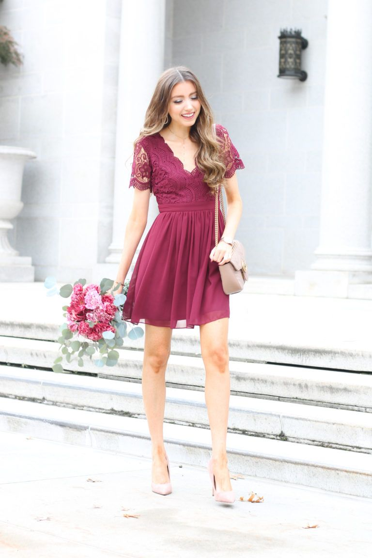 5 Fall Wedding Guest Dresses Lace Lashes Fall Wedding Guest Dress Wedding Guest Outfit Fall Wedding Attire Guest [ 1152 x 768 Pixel ]