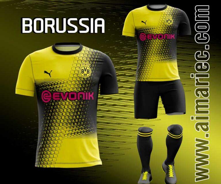 Camiseta Borussia Dortmund 2020 Kit Fantasy en 2020 ...