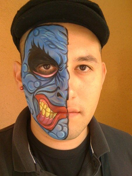 Harvey Two-Face by *RonnieMena on deviantART <- this guy is ...
