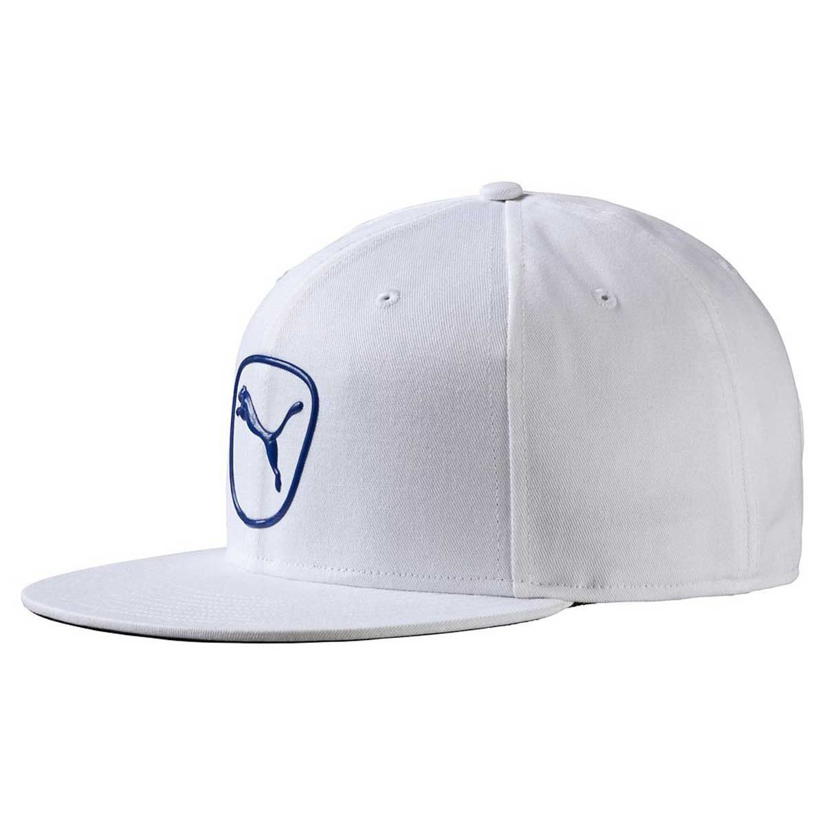 7756adedca3 Puma Golf White Surf the Web Cat Patch 2.0 Snapback Cap in 2018 ...