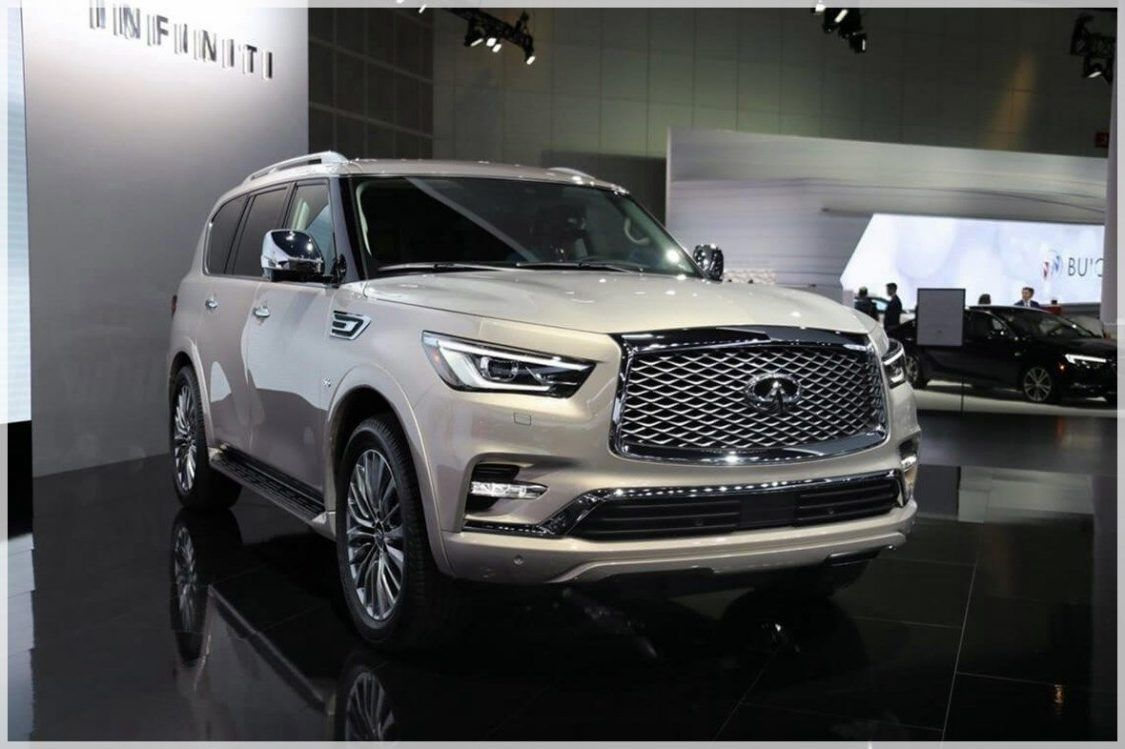 2020 Infiniti Qx80 Review Concept Engine Interior Debut Photos Suv New Suv Full Size Suv