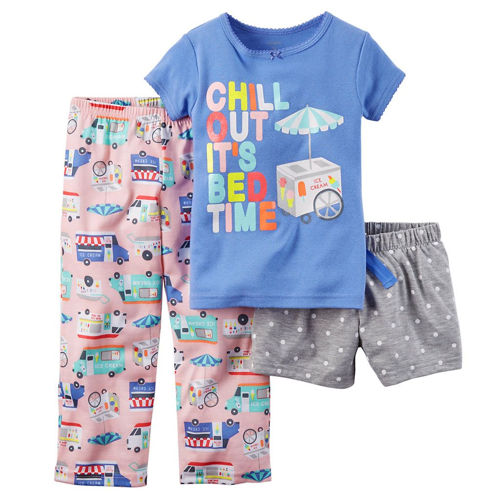 Carters Baby Girls 3 Pc Poly 353g072