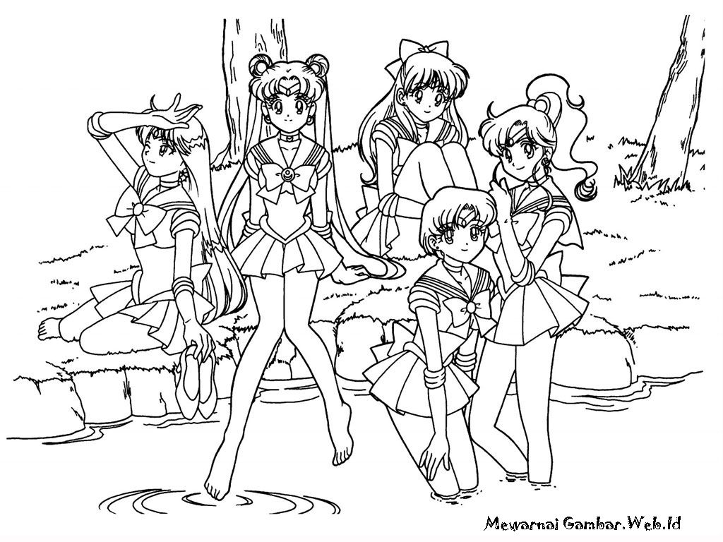 Pin By Giovanna Perez On Sailor Moon With Images Moon Coloring