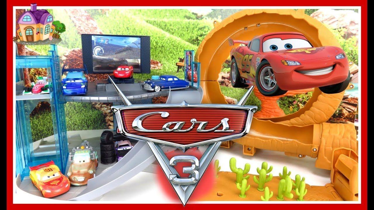Carros Que Cambian De Color Y Pistas De Carreras De Cars 3 Cars 3