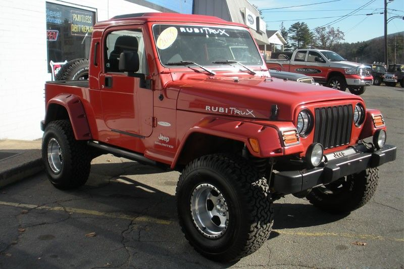 2006 Orange Jeep Wrangler Unlimited