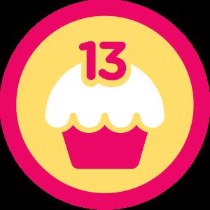 Krevet S Badges Logotip