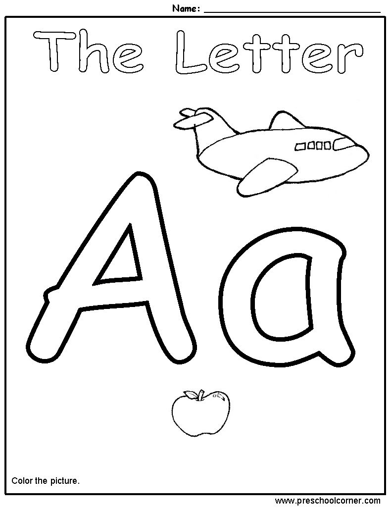 worksheet Letter A Worksheets printables preschool letter a gozoneguide thousands of printable handwriting practice free worksheets for teachers and a