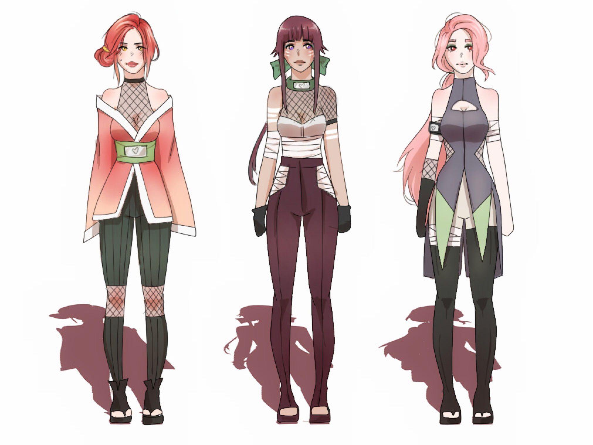 Naruto Adoptables 2 By Szyszke On Deviantart Naruto Anime Ninja Anime Characters