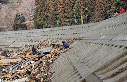 Japan's tsunami defences brutally exposed