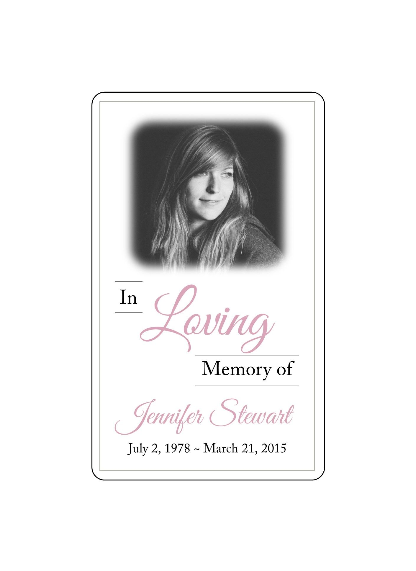 Succulents In Loving Memory Sign Template Printable In Memory Etsy Sign Templates In Loving Memory Place Card Template