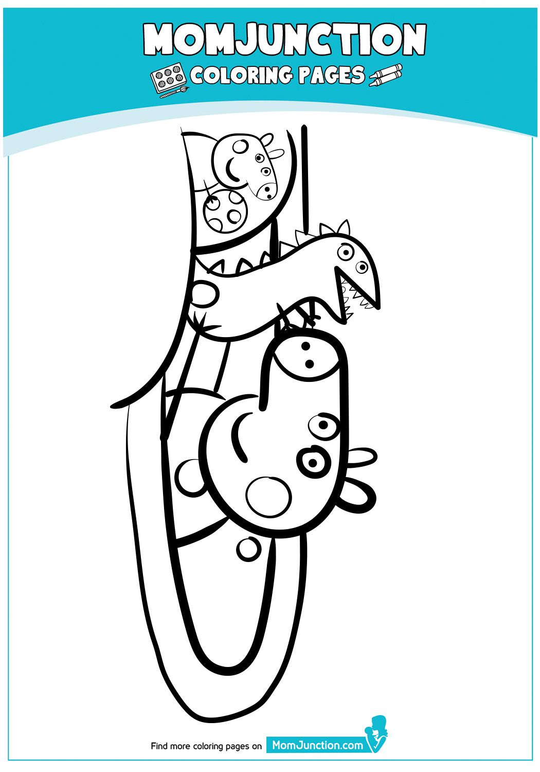 The Peppa Pig Coloring Page Peppa Pig Coloring Pages Peppa Pig Colouring Coloring Pages