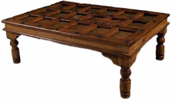 Old Door Coffee Table 2 Door Coffee Tables Southwestern Furniture Coffee Table