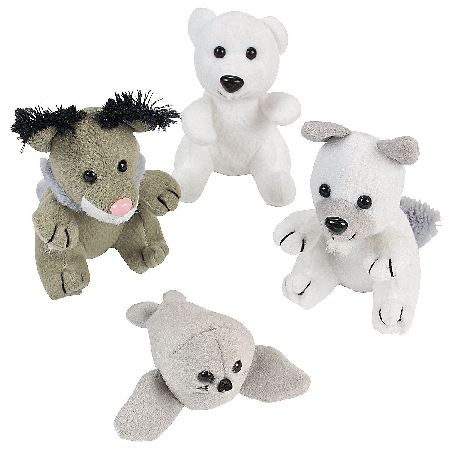 Plush Arctic Animal Assortment
