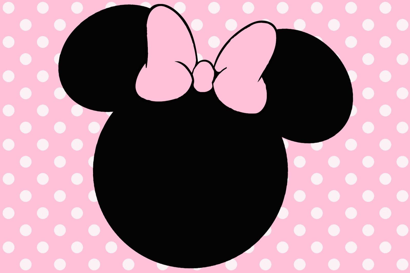 Montando a minha festa: Minnie rosa e preto | aniversário Larissa 2 anos | Pinterest | Minnie ...