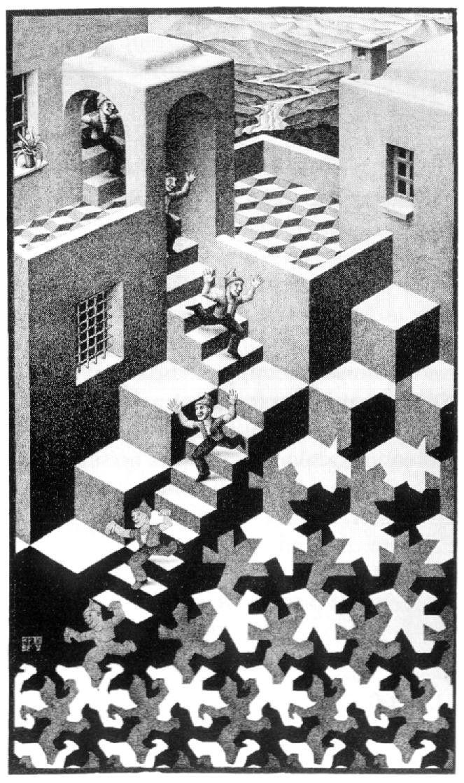 Maurits Cornelis Escher Escher Art Mc Escher Art Stair Art