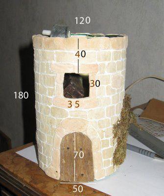 Provence Creches Plans Moulin A Vent Moulin A Vent Le Moulin Santon Creche
