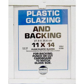11 X 14 Plastic Safety Glass Safety Glass Custom Framing Glass