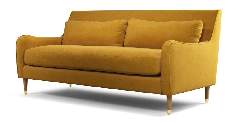 Content By Terence Conran Oksana 3 Sitzer Sofa Samt In