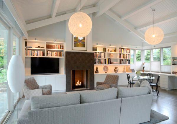 room modern pendant light - Pendant Light Living Room